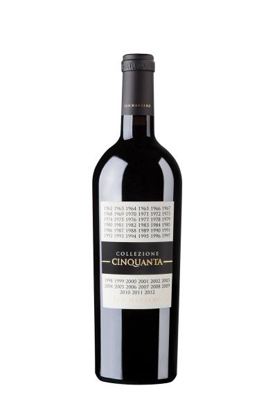 Cantine San Marzano Collezione Cinquanta +4 Vino Rosso d'Italia