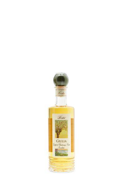 Berta Giulia Grappa di Chardonnay e Cortese invecchiata 0,2 Liter