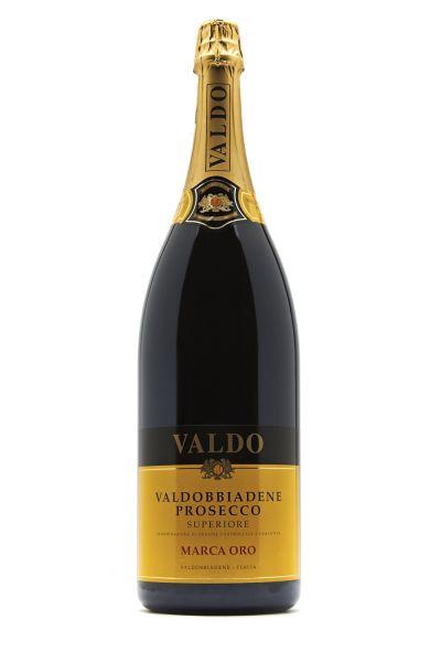 Valdo Marca Oro Prosecco Superiore DOCG Doppelmagnum inkl. Holzkiste