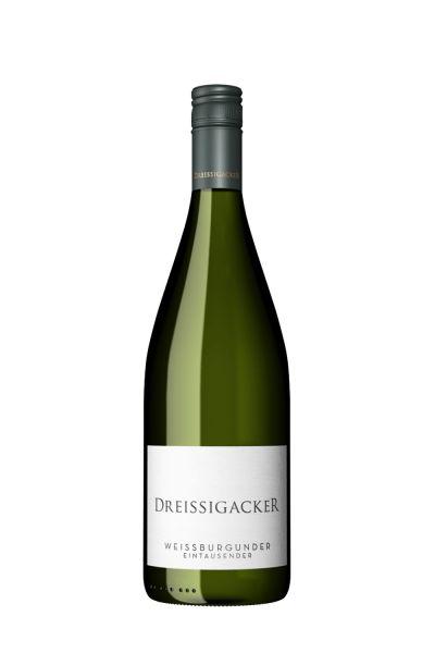 Dreissigacker Weissburgunder trocken Eintausender BIO