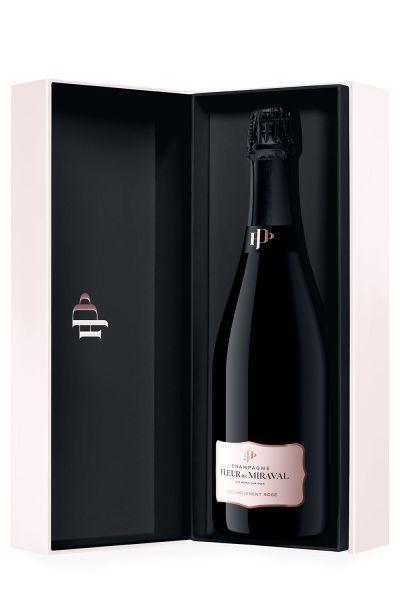 Miraval Champagner Fleur de Miraval Exclusivement Rosé mit Geschenkverpackung