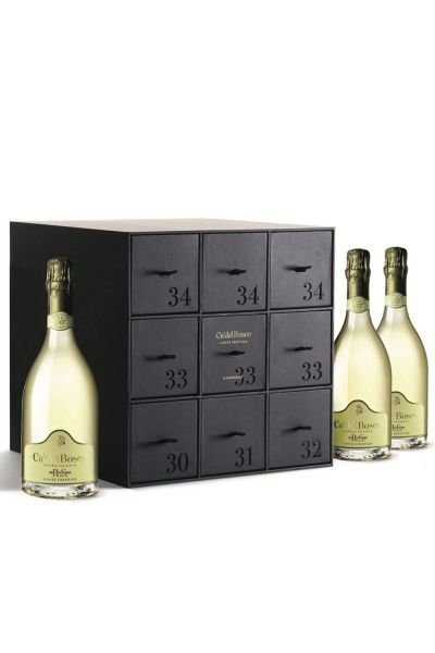 Ca´del Bosco Franciacorta Cuvée Prestige Brut Vertikal Edizione RS 9er Box