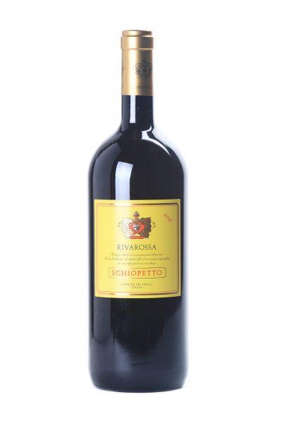 Schiopetto Rivarossa Rosso Venezia Giulia IGT 2015 Magnum mit Holzkiste