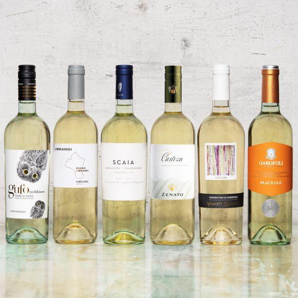 Probierpaket beliebte italienische Weißweine trocken (6 x 0,75 l)