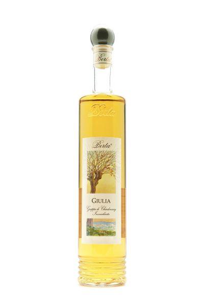 Berta Giulia Grappa di Chardonnay e Cortese invecchiata 0,7 Liter