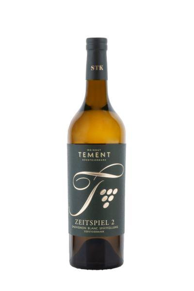 Weingut Tement Zeitspiel 2 Sauvignon Blanc Spätfüllung Südsteiermark Gutswein 2017