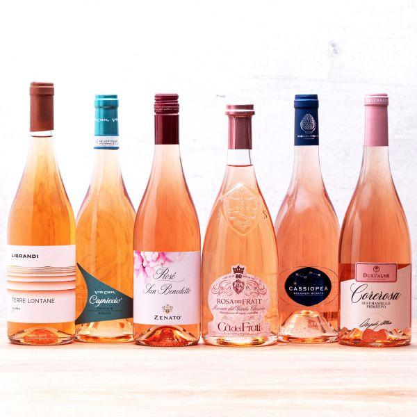 Probierpaket Roséweine aus Italien (6 x 0,75l)