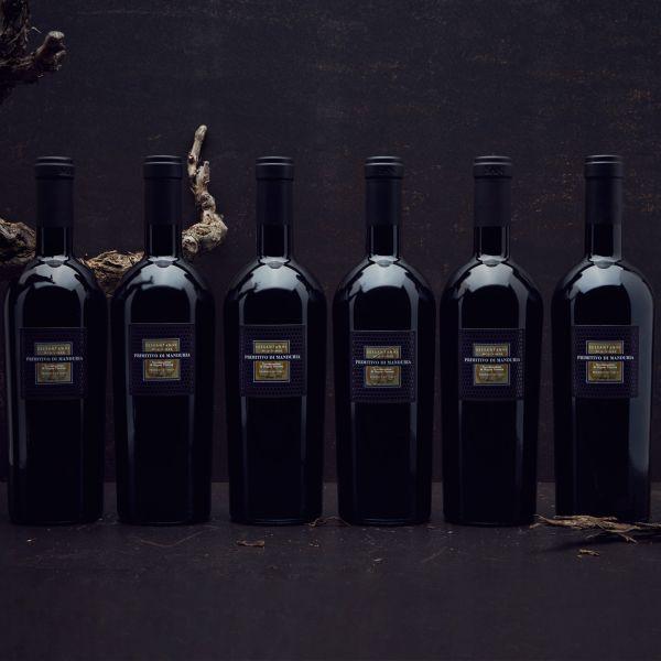 Sparpaket 2015er Cantine San Marzano Sessantanni Primitivo di Manduria DOP (6 Flaschen)