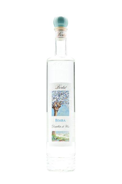 Berta Bimba Grappa Acquavite d´uva 0,7 Liter